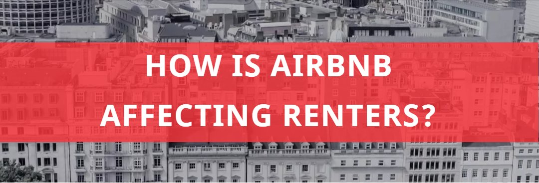 Is Airbnb Affecting Renters?